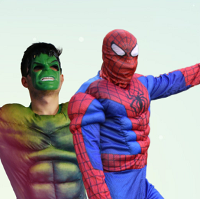 Hulk si Spiderman AnimaDisney