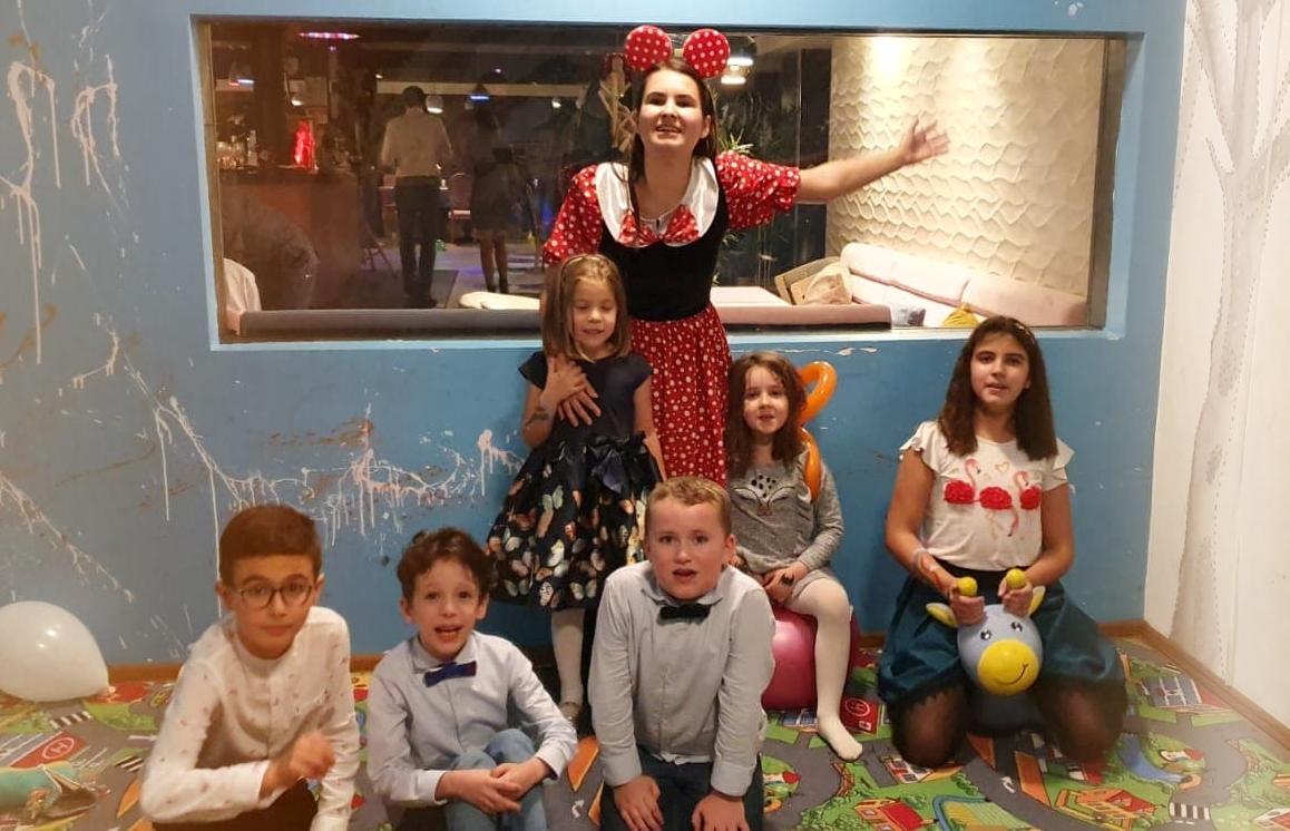 Petrecere copii cu Minnie AnimaDisney