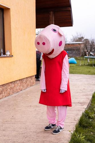 Mascota Peppa Pig
