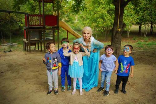 Petrecere cu Elsa